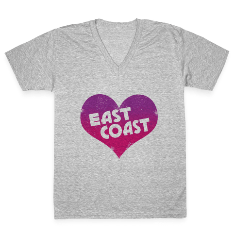 East Coast V-Neck Tee Shirt