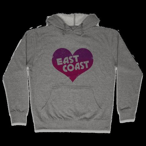 East Coast Hooded Sweatshirt
