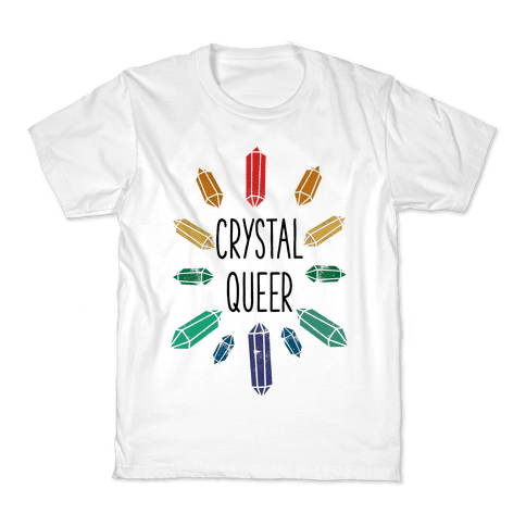 Crystal Queer Kids T-Shirt