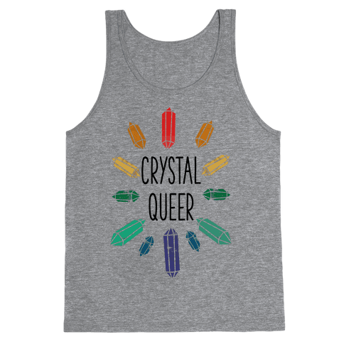 Crystal Queer Tank Top