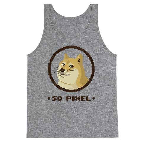 Pixel Doge Tank Top