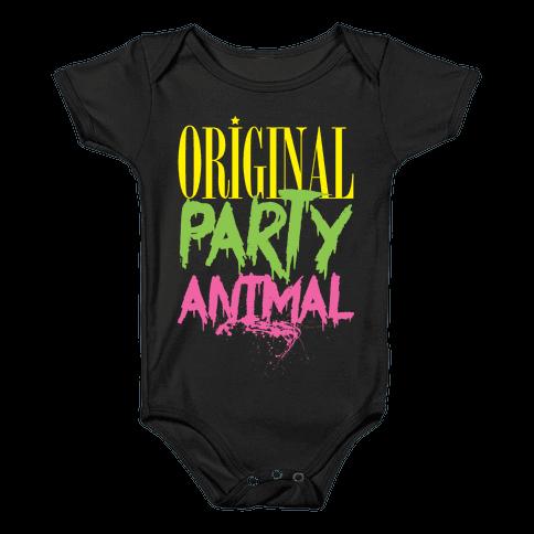 Original Party Animal Baby Onesy