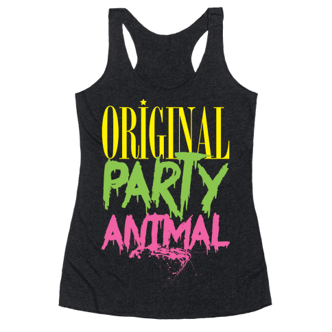Original Party Animal Racerback Tank Top