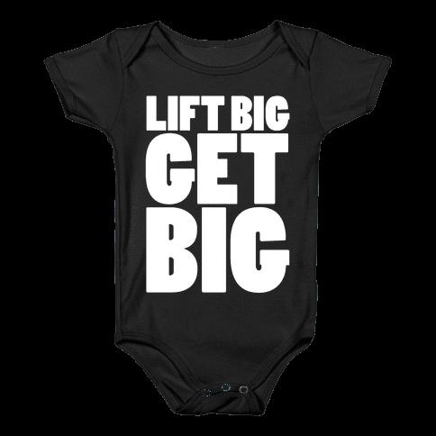 Life Big Get Big Baby Onesy