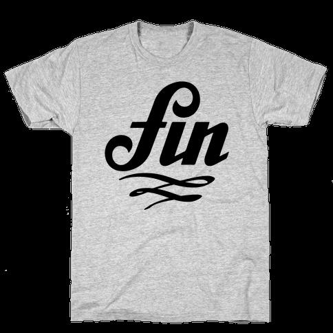 Fin Mens T-Shirt