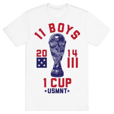 11 Boys 1 Cup T-Shirt
