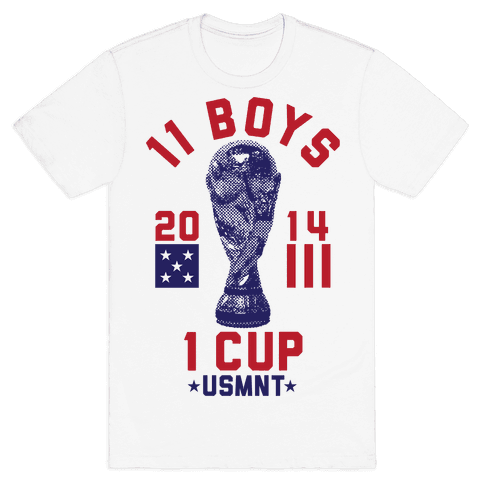11 Boys 1 Cup Mens T-Shirt