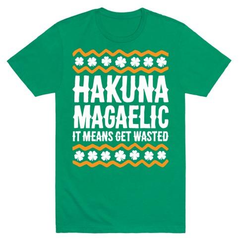 Hakuna Magaelic Mens T-Shirt