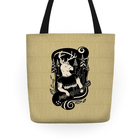 Rock and Roll Buck Tote