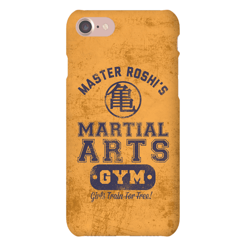 Master Roshi's Martial Arts Gym Phone Case
