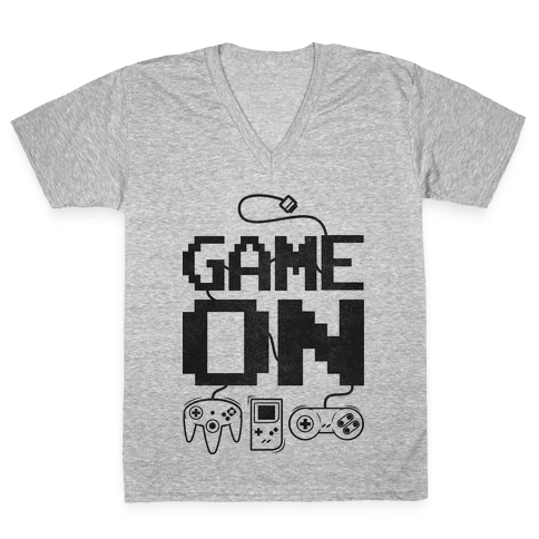 Game On V-Neck Tee Shirt