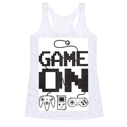 Game On Racerback Tank Top