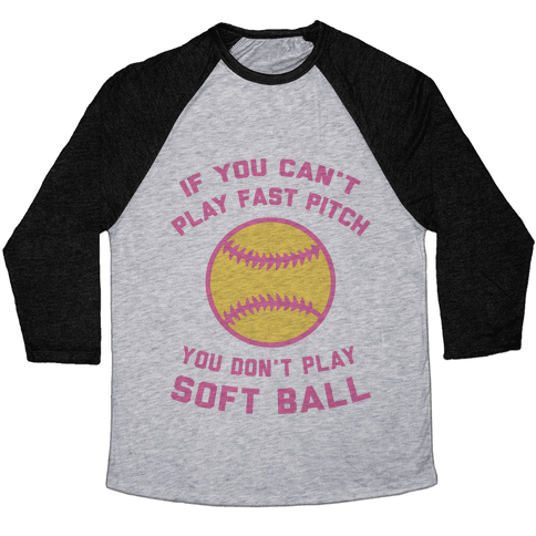 Fast Pitch Softball Baseball Tee