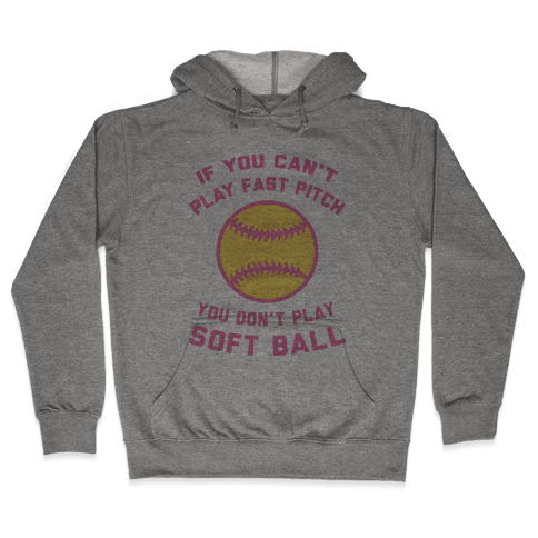 Fast Pitch Softball Hooded Sweatshirt