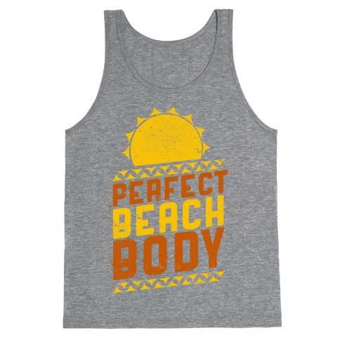 Perfect Beach Body (Color) Tank Top