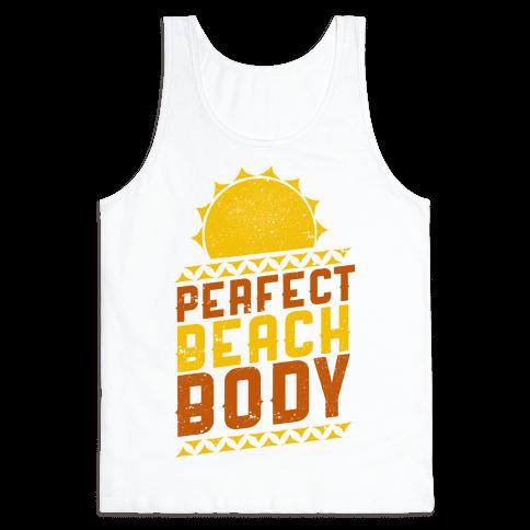 Perfect Beach Body (Color) Tank Top