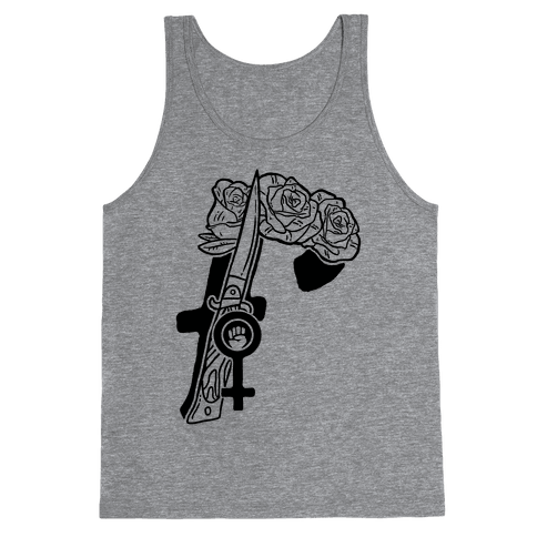 F Is For Feminism Tank Top