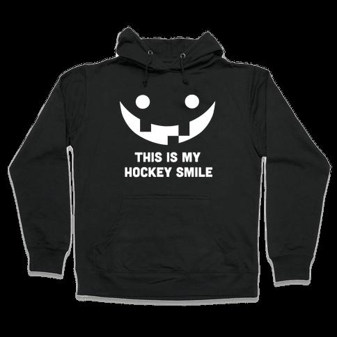 This is My Hockey Smile Hooded Sweatshirt