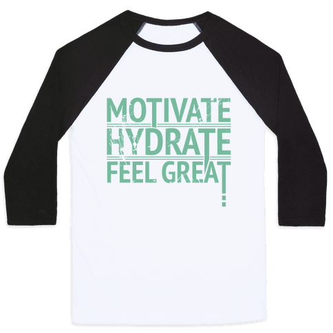 Motivation Baseball Tee