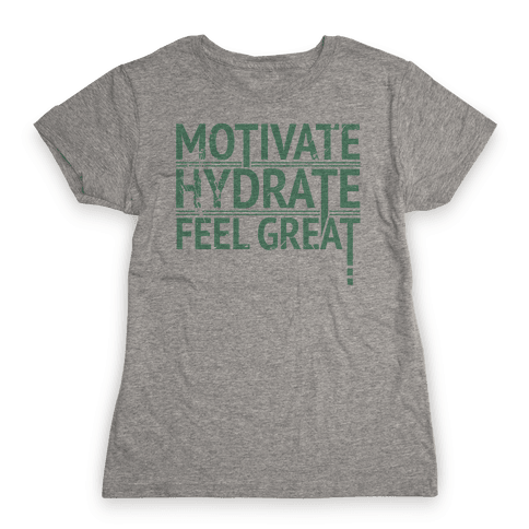 Motivation Womens T-Shirt