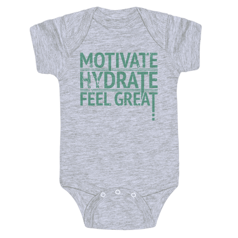 Motivation Baby Onesy