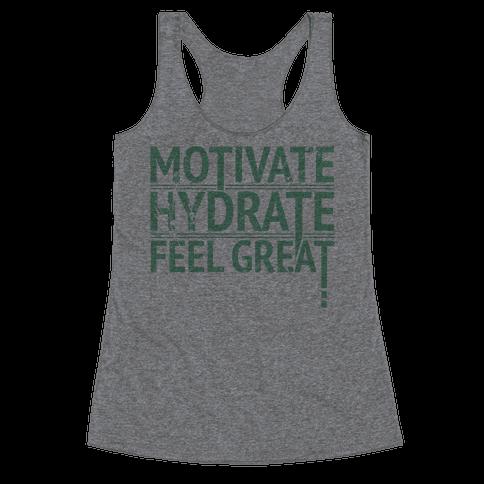 Motivation Racerback Tank Top
