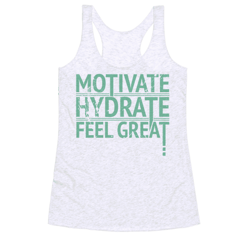 Motivation Racerback Tank Top