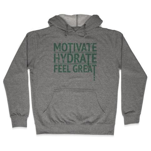 Motivation Hooded Sweatshirt