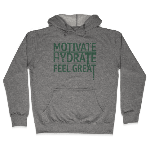 Motivation Hooded Sweatshirt