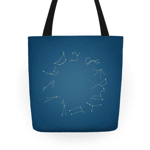 Zodiac Constellation Tote