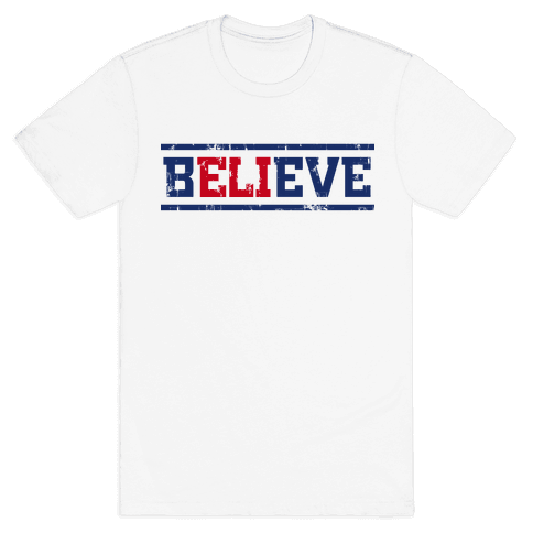 Believe in Eli Mens T-Shirt