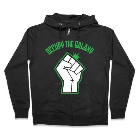 Occupy the Galaxy Zip Hoodie