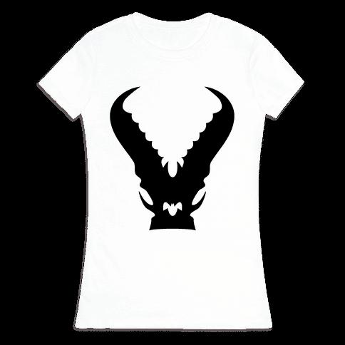 Kaiju Warning Womens T-Shirt