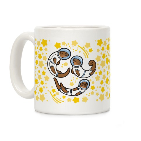 Otters In Space Coffee Mug
