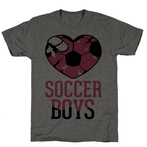 Soccer Boys Mens T-Shirt