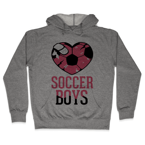 Soccer Boys Hooded Sweatshirt