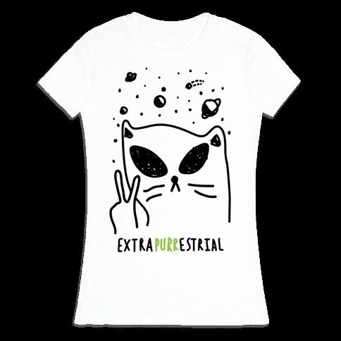 Extrapurrestrial Womens T-Shirt