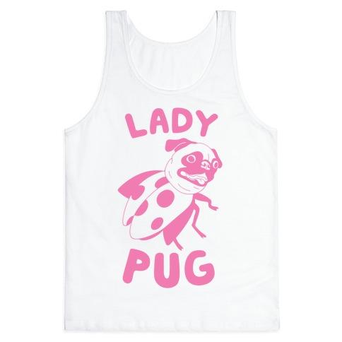 Lady Pug Tank Top