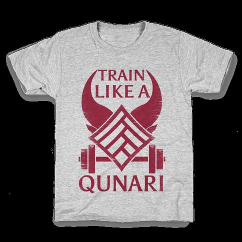 Train Like A Qunari Kids T-Shirt