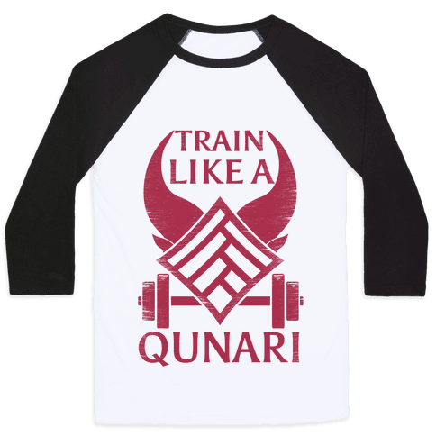 Train Like A Qunari Baseball Tee
