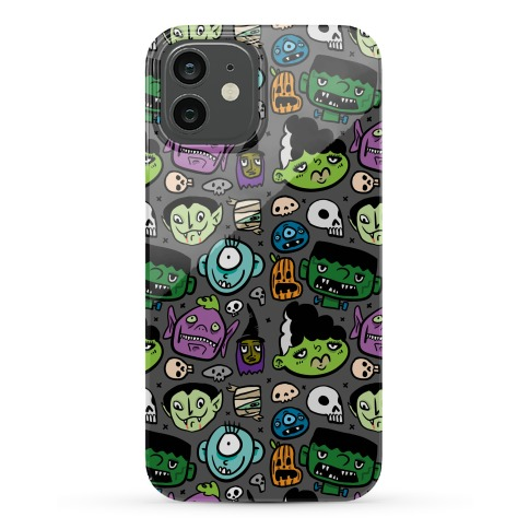 Halloween Faces Phone Case