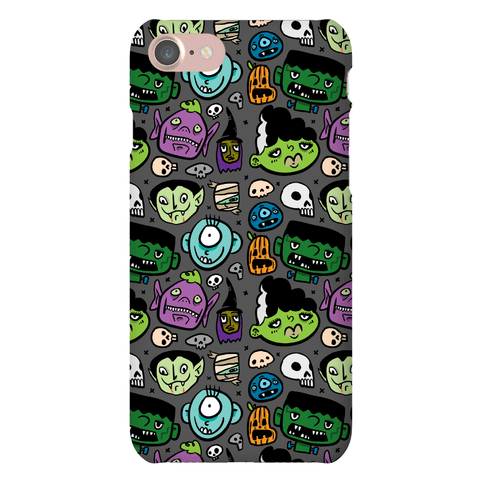 Halloween Faces Phone Case