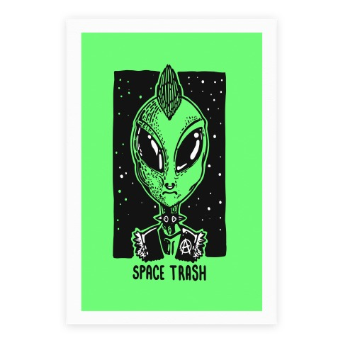 Space Trash Poster