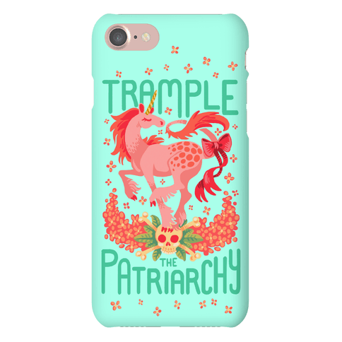 Trample The Patriarchy Phone Case