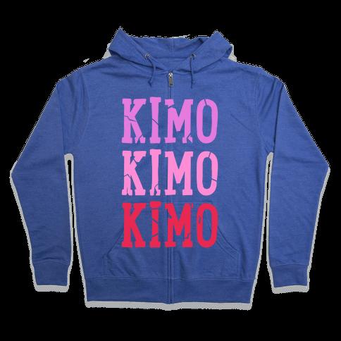 Kimo Kimo Kimo! Zip Hoodie