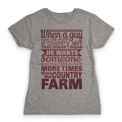 That Country Love Womens T-Shirt