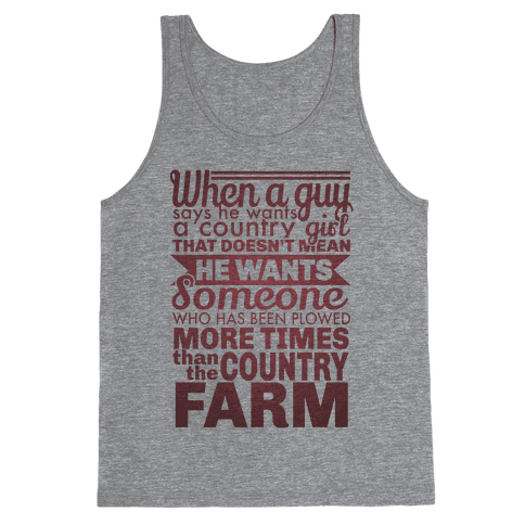 That Country Love Tank Top