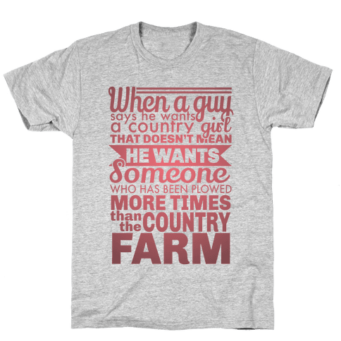 That Country Love Mens T-Shirt