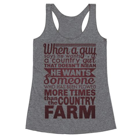 That Country Love Racerback Tank Top
