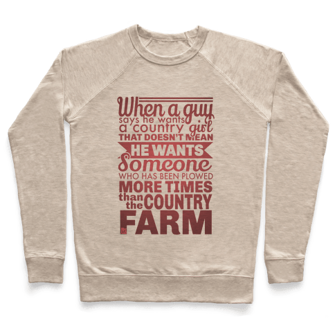 That Country Love Pullover